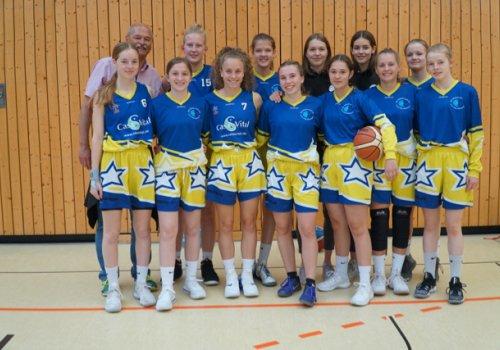 OTB U18 Mädchen werden Siebente beim Internationalen Turnier in Zehlendorf