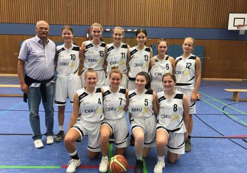 Otb U18 Mädchen gewinnen  erstes Spiel in der Landesliga